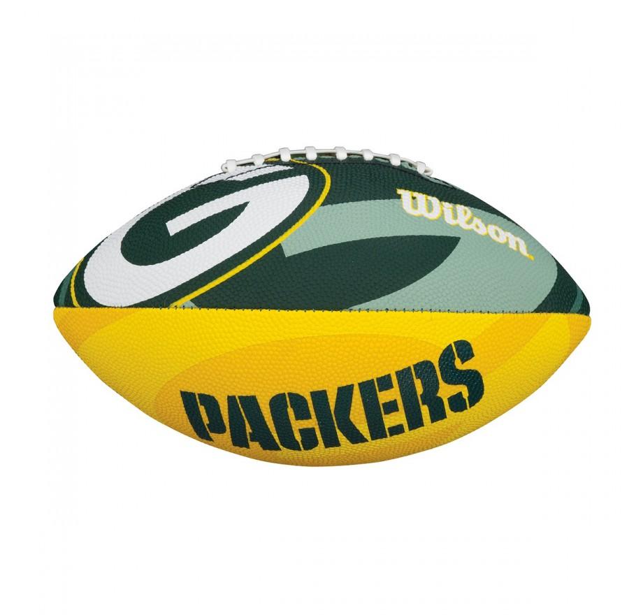 Wilson nfl team logo junior rubber balls football shop for Pol junior design