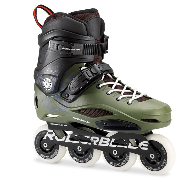 Powerslide Swell Lite: Rollerblade Freestyle RB 80 '17 Pro