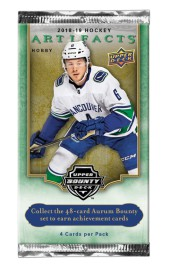 Karty Upper Deck z zawodnikami NHL Artifacts18/19