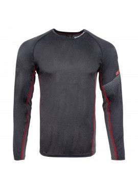 Bauer Essential Base Layer Youth Long Sleeve Training Shirt