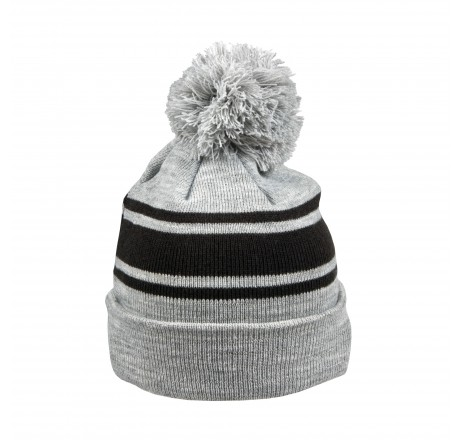 Cap with pompon Bauer Team Stripe NE
