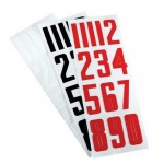 Bauer Hockey Helmet Number Stickers