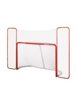 Bauer Official Performance Steel Hockey Goal w/Backstop