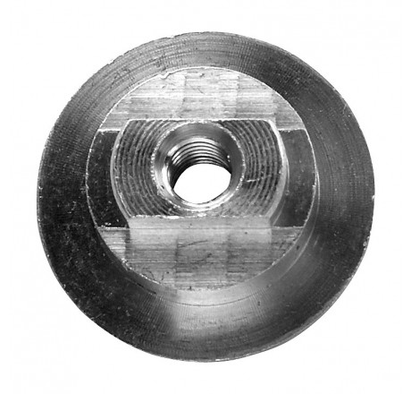A large fixing nut for the Bauer helmet