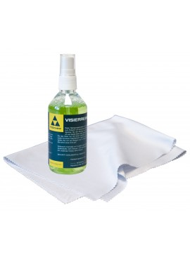 Fischer spray + plexiglass cleaning cloth