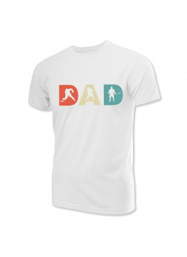 Sportrebel Hockey DAD # 1 short sleeve t-shirt