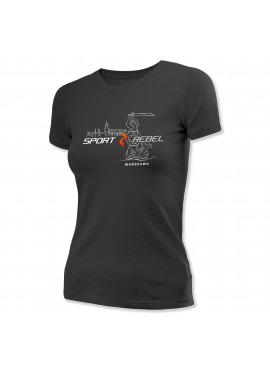 Sportrebel Warsaw Wmn short sleeve shirt