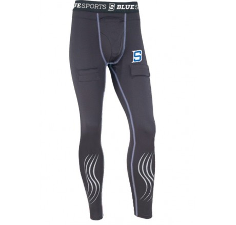 Compression pant with cup Senior Small