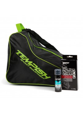 Sports set - Green roller bag / Tempish skate + Footwear inserts Tempish + Hydrogel Captodor