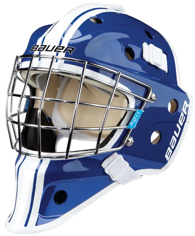 Maska bramkarska bauer nme3 malowana sr goalie masks for Pol junior design