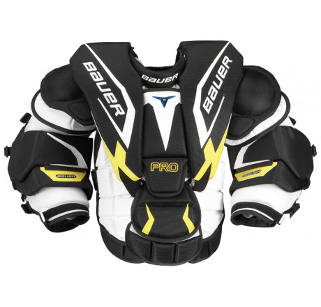 Bauer Pro Goalie Chest Arm Protector Sr Chest Arm Hockey