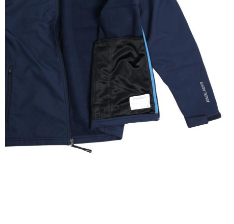 Kurtka softshell Bauer Team Sr
