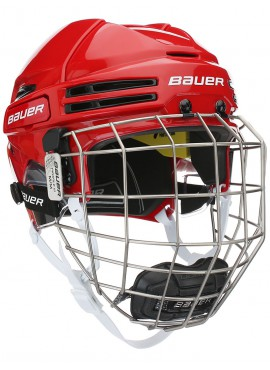 Bauer RE-AKT 75 Hockey Helmets with Cage