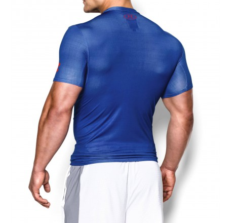 Under Armour HG Alter Ego Cpt. America short sleeve