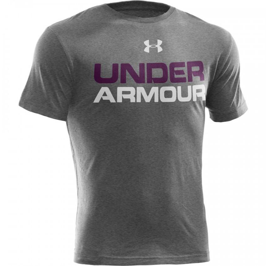 Koszulka Termo Short Sleeve Under Armour Wordmark Senior