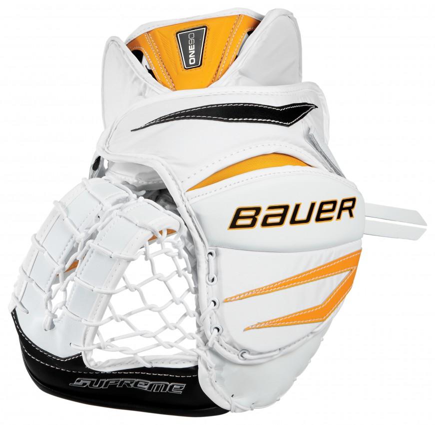 Rebel Sport Keeper Gloves: Bauer Supreme One90 Goalie Glove Int