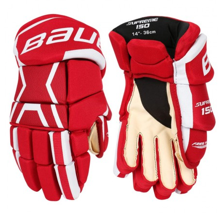 Bauer Supreme 150 Jr. Hockey Gloves