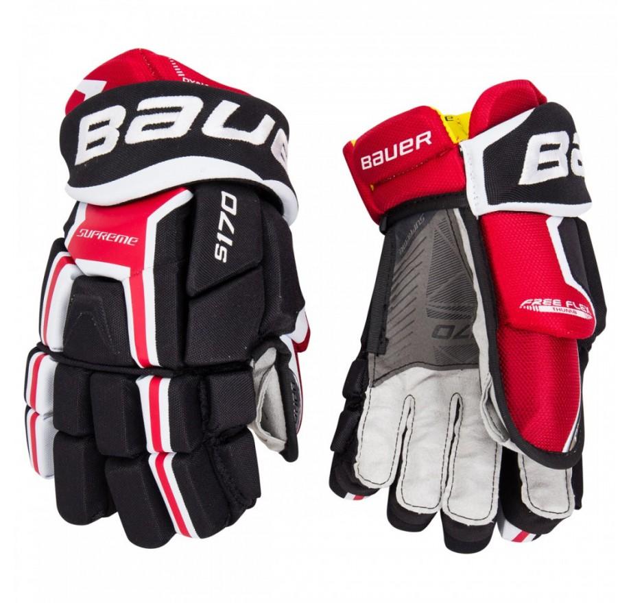 Nike Hockey Gloves: Bauer Supreme S170 Youth Hockey Gloves