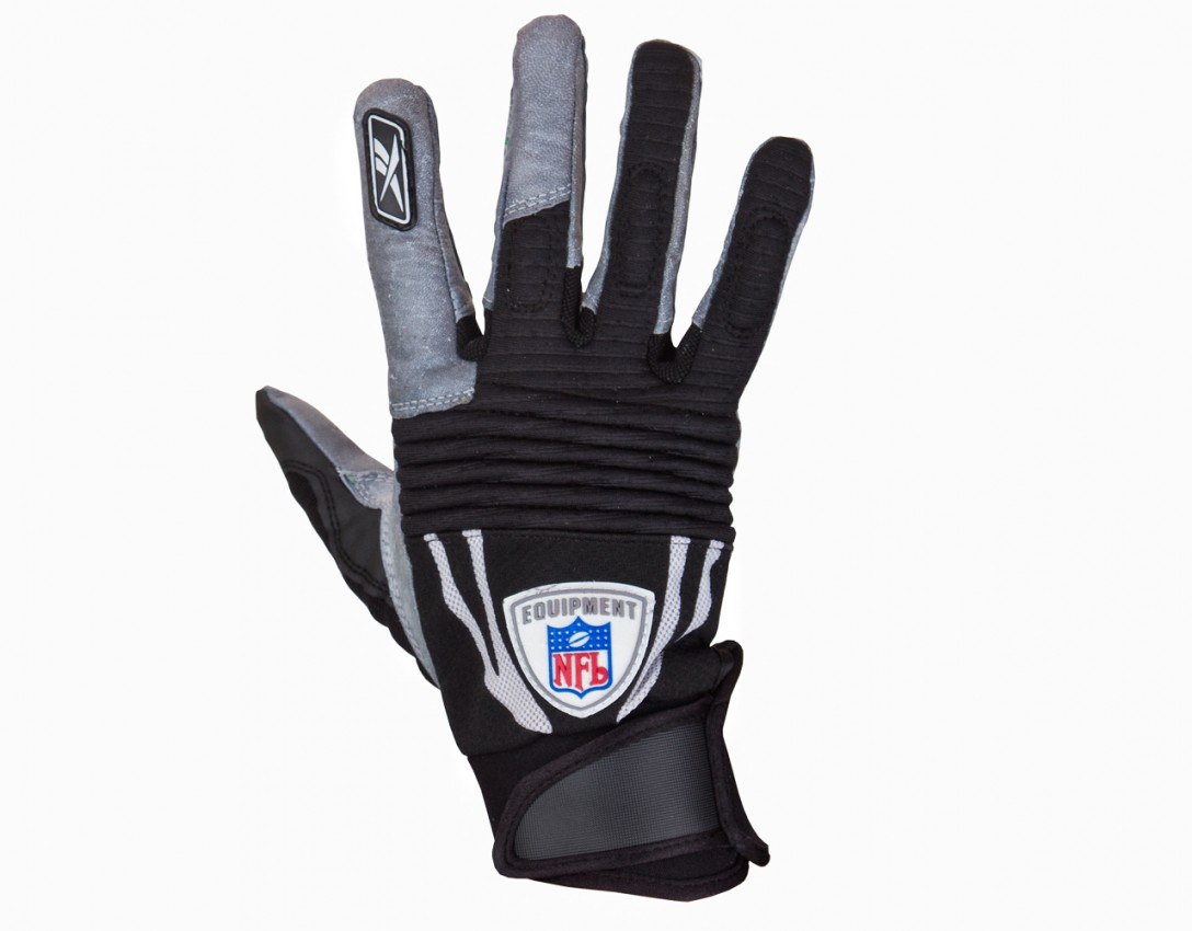 Reebok NFL Equipment Padded Velocity Grip Gloves  Gloves  Football shop Sportrebel