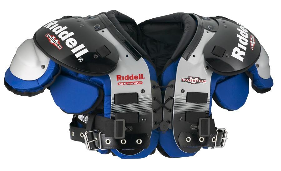 Shoulder Pad Riddell Evolution Ev68 Lb Fb Pads Football Sportrebel