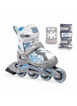 Rollerblade Phaser G Combo '16 Adjustable kids skate