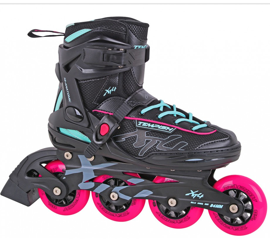 Tempish xt4 lady fitness inline skates purewoman skate for Lady fitness