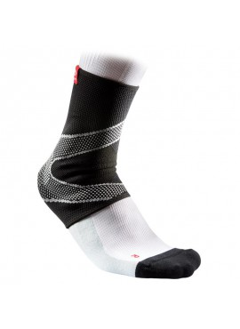 McDavid Ankle Sleeve with 4-way Elastic with Gel Buttresses