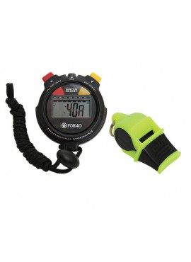 FOX40 Whistle Sonik + Stopwatch